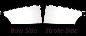 Croker oars bow side andstroke side