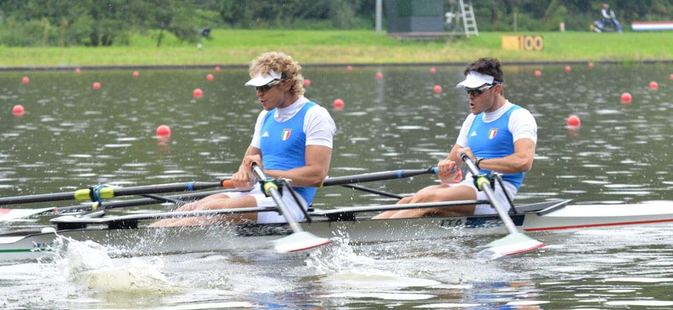 Double 2X Racing Boats